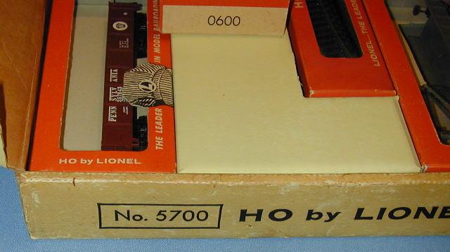 Lionel HO 5700 Setbox View 2